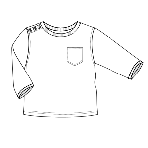 Choose your   sewing patterns T-Shirt 00256 BABIES T-Shirts