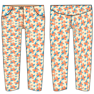 All our patterns have been tested and they are made for garments production Trouser  6838 GIRLS Trousers