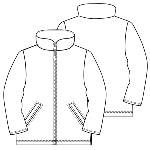 All our patterns have been tested and they are prepared for garments production Jacket 6997 GIRLS Jackets