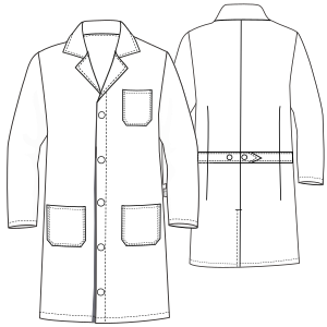 Doctor smock WC 6002