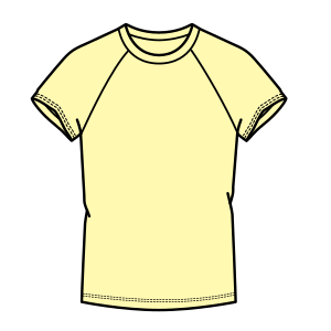 Browse through a offer of dress patterns Sport T-Shirt 7294 LADIES T-Shirts