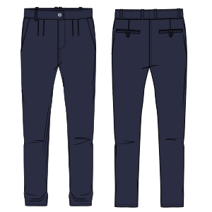 All our patterns have been tested and they are prepared for garments production Trouser 766 MEN Trousers