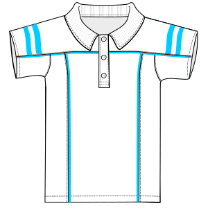 Consult our shop for sewing patterns Sports Polo 6723 MEN T-Shirts