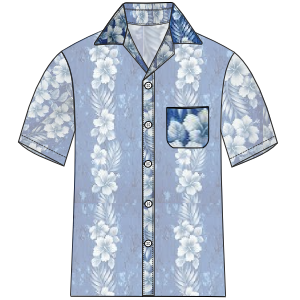 Choose your   sewing patterns Hawaiian Shirt 2943 MEN Shirts