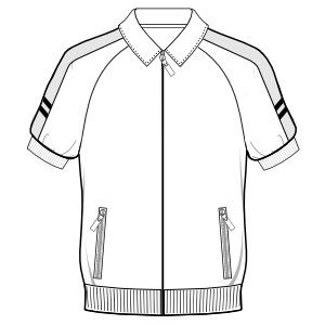 Choose your   sewing patterns Shirt jacket 3009 MEN Shirts
