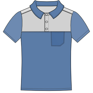 Browse through a huge variety of dress patterns Polo 3015 MEN T-Shirts