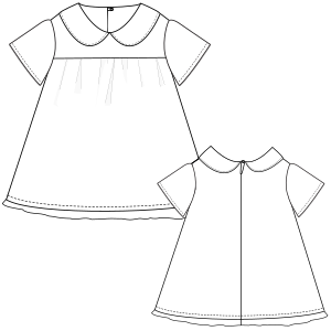 Browse our  sewing patterns Dress 3097 GIRLS Dresses