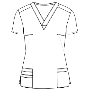 Select your   sewing patterns Nurse Jacket 795 UNIFORMS Sets