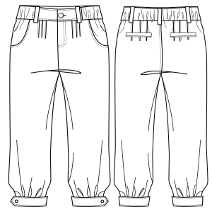 Trousers 6987