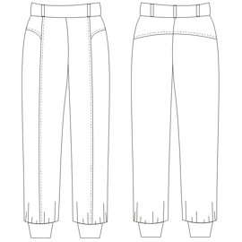 Browse our shop for sewing patterns Babucha Sport 733 LADIES Trousers