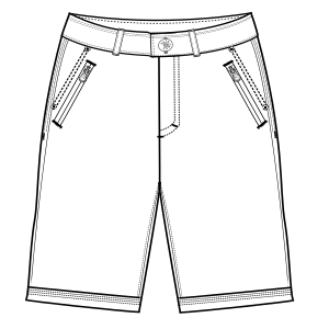 Browse our  sewing patterns Bermudas 2896 MEN Shorts