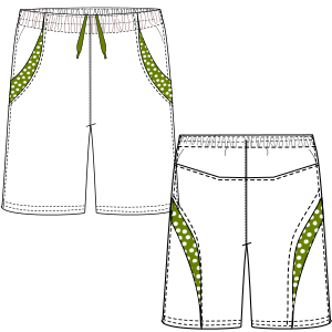 All our patterns have been tested and they are prepared for garments production Bermudas 2992 MEN Shorts