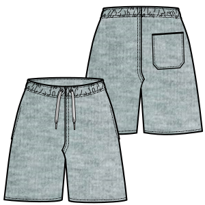 Browse our catalogue for sewing patterns Bermudas 614 MEN Shorts