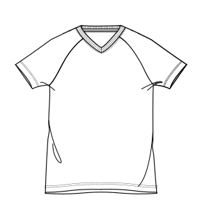 Dressmaking patterns for everybody Football T-Shirt 2987 BOYS T-Shirts