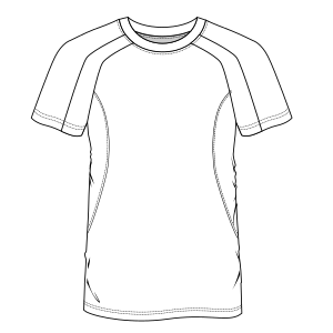 All our patterns have been tested and they are prepared for garments production T-shirt 6718 BOYS T-Shirts