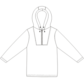 Browse our  sewing patterns Jumper Polar 785 MEN Sweatshirt