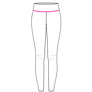 Browse our  sewing patterns Sport leggings 7070 LADIES Trousers