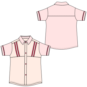 Browse our  sewing patterns Shirt 7034 GIRLS Shirts