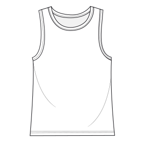 Browse our  sewing patterns Tank top 6030 BOYS T-Shirts