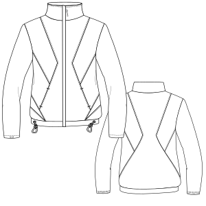 All our patterns have been tested and they are prepared for garments production Jacket 3088 LADIES Jackets