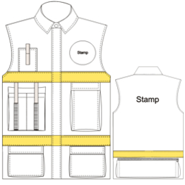 All our patterns have been tested and they are prepared for garments production Jacket 4697 UNIFORMS Jackets