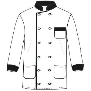 Browse through a  and nice assortment of dress patterns Chef Jacket 6815 UNIFORMS Shirts