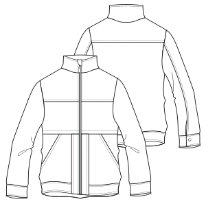 Select your   sewing patterns Wind coat 7052 BOYS Jackets