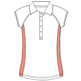 All our patterns have been tested and they are made for garments production T-Shirt 693 LADIES T-Shirts