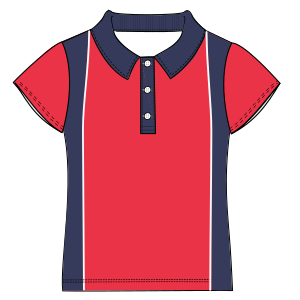 Easy dress patterns for domestic and professional users School T-shirt 6042 UNIFORMS T-Shirts