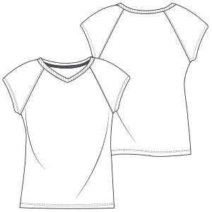 Browse our shop for sewing patterns T-Shirt 7072 LADIES T-Shirts