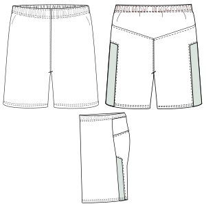 Browse our shop for sewing patterns Football Shorts 6837 BOYS Shorts