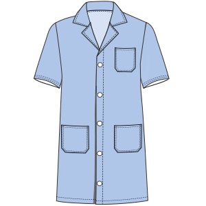 Browse through a offer of costume patterns Teacher smock 3099 UNIFORMS Shirts