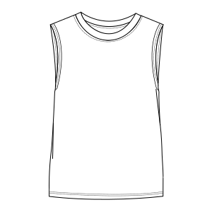 All our patterns have been tested and they are ready for garments production Tank 7200 MEN T-Shirts