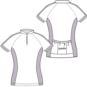 Browse our shop for sewing patterns Cyclist Maillot 6969 LADIES T-Shirts