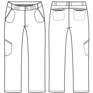 Browse our  sewing patterns Jeans stretch 2899 LADIES Trousers