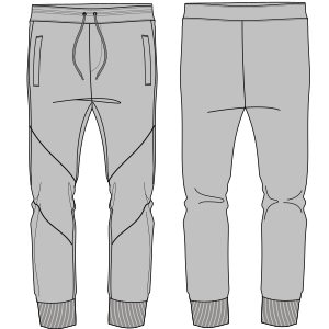 Browse through a wide variety of dress patterns Jogger pants 7141 MEN Trousers
