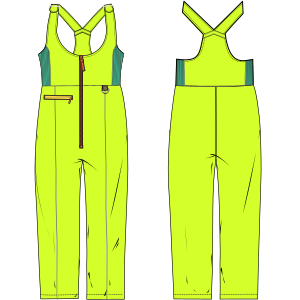 All our patterns have been tested and they are made for garments production Jumper suit sky 6010 LADIES One-Piece