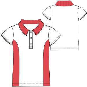 All our patterns have been tested and they are ready for garments production T-Shirt 6948 LADIES Large Sizes