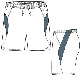 Browse our catalogue for sewing patterns Bermudas 2893 MEN Shorts