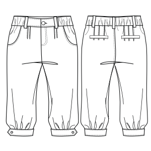Browse our catalogue for sewing patterns Trousers 004 BOYS Trousers