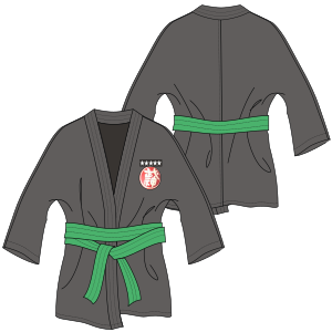 All our patterns have been tested and they are prepared for garments production Taekwondo Jacket 7087 UNIFORMS Trousers
