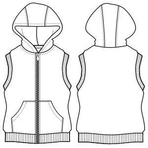 Browse our catalogue for sewing patterns Vest 6713 GIRLS Waistcoats