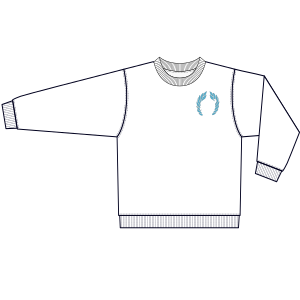 Browse our  sewing patterns Sports Sweatshirt  0358 UNIFORMS Sweatshirt