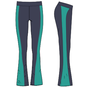 Browse our  sewing patterns Sport leggings 6048 LADIES Trousers