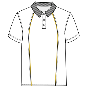 Browse our shop for sewing patterns Polo 6965 MEN T-Shirts
