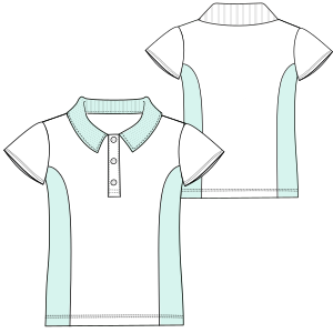 Browse our shop for sewing patterns School T-shirt BC 6045 UNIFORMS T-Shirts