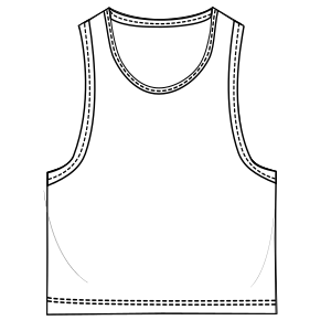 Choose your   sewing patterns Tank top 3090 BOYS T-Shirts