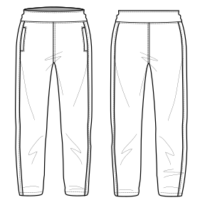 Choose your   sewing patterns Sport Trousers 659 LADIES Trousers
