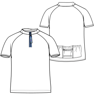 Browse our  sewing patterns Maillot 7288 BOYS T-Shirts