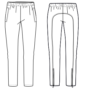 Browse our shop for sewing patterns Sport Trousers 7344 LADIES Trousers